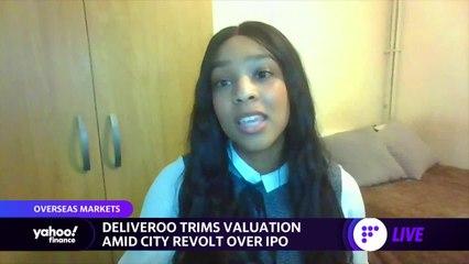 Deliveroo trims valuation amid city revolt over IPO