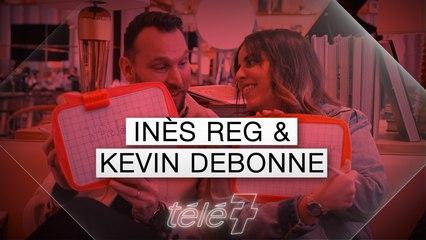 """Inès Reg et Kevin Debonne : L'interview """"Les Z'amours"""""""