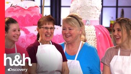 Abuelas y nietas preparan pasteles con tradición familiar | Hornea como Buddy | Discovery H&H