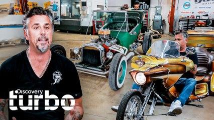 Reliquias rescatadas por Richard Rawlings | El Dúo mecánico | Discovery Turbo