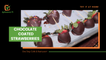 Try it at home: Chocolate coated strawberries