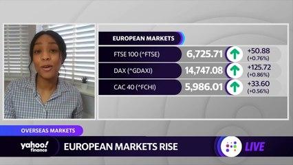 European stock markets shrug off rising Covid-19 cases