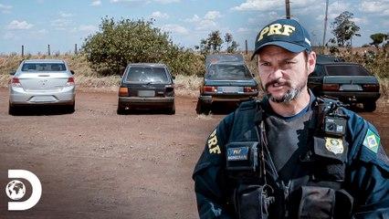 Interceptação de 4 carros por contrabando   Operação Fronteira: América do Sul   Discovery Brasil