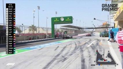 Red Bull confirma força, mas lidera pelotão unido: assista como foi a sexta-feira no Bahrein