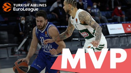 MVP of the week: Vasilije Micic, Anadolu Efes Istanbul