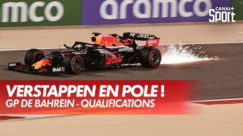 Verstappen décroche la pole ! - GP de Bahreïn
