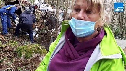 Une grosse décharge sauvage nettoyée par des bénévoles à Valmanya