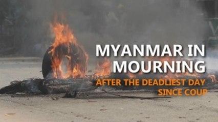 Myanmar civilians killed since coup surpass 420 after deadliest day
