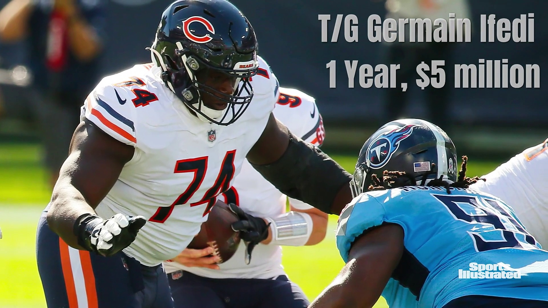Bears Free Agency Signings to Date