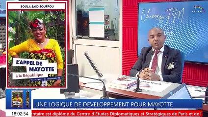 CHICONI FM TV - Parlons de L'APPEL DE MAYOTTE à la République avec Soula Said-Souffou.