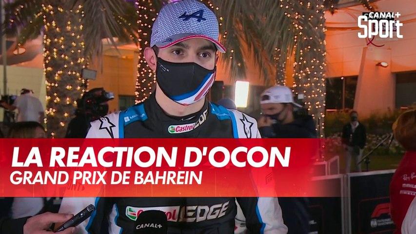 "Ocon : ""Vettel est venu s'excuser"" - Grand Prix de Bahreïn"