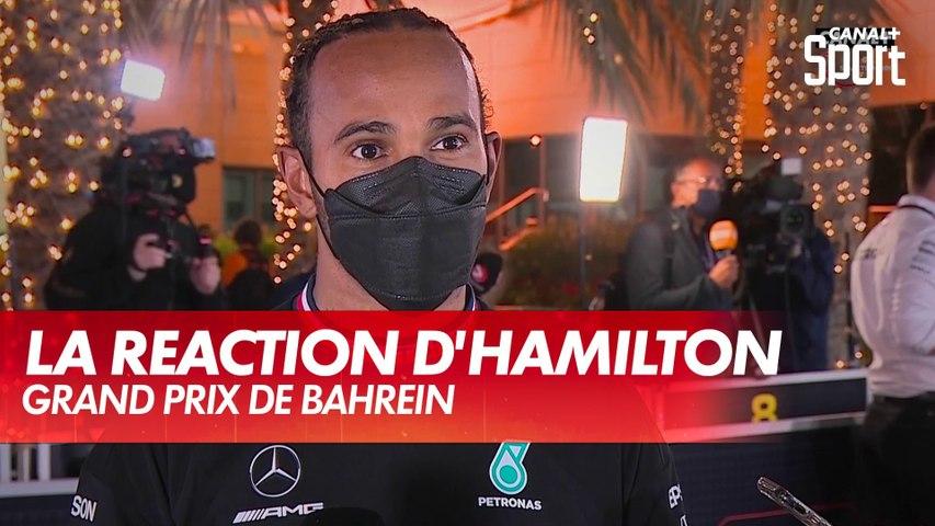 """Hamilton : """"Si Max n'avait pas fait cette erreur..."""" - Grand Prix de Bahreïn"""