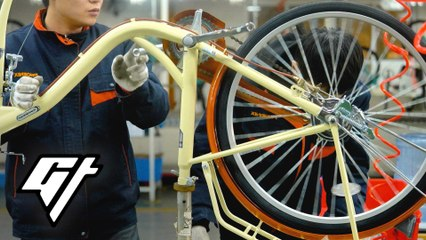Inside a 6-Million-Square-Foot Bike Factory in China