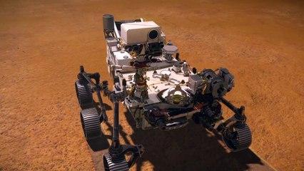 Comienza el despliegue del helicóptero marciano Ingenuity