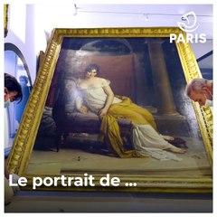 """Le """"Musée Carnavalet - Histoire de Paris"""" va bientôt réouvrir - Le portrait de Juliette Récamier"""