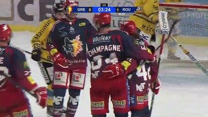 Grenoble - Rouen (3-2), le résumé vidéo