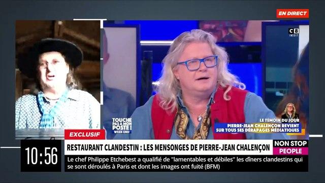 """EXCLU - Regardez les preuves des mensonges de Pierre-Jean Chalençon révélées ce matin dans """"Morandini Live"""": """"Il y avait 40 personnes"""" - VIDEO"""