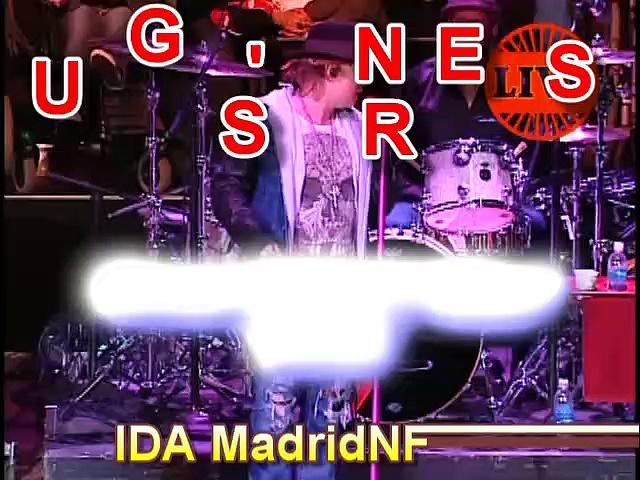 """Sweet Child O' MIne"" w/Lyrics Bridge School Benefit 2012 Guns N' Roses"