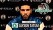 Jayson Tatum Postgame Interview   Celtics vs Pelicans