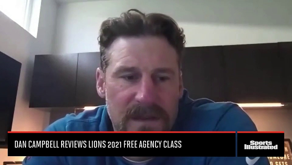 Dan Campbell Reviews Detroit Lions Free Agency Signings