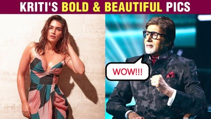Amitabh Bachchan's EPIC Reaction On Kriti Sanon's B0LD Photos