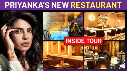 First Look Inside Priyanka Chopra Jonas's New Restaurant SONA