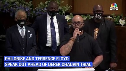 George Floyd's Brothers Speak Out Just Hours Before Derek Chauvin's Trial