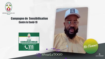 Togo/Covid-19 : Mic Flammez a un message pour vous