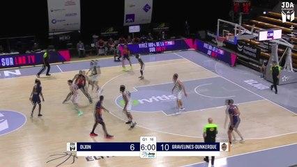 Dijon Highlights vs. Gravelines-Dunkerque
