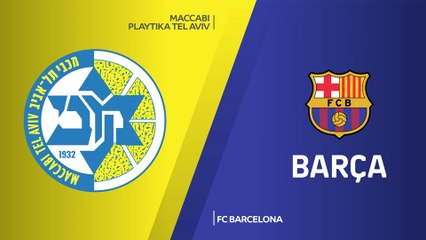 EuroLeague 2020-21 Highlights Regular Season Round 32 video: Maccabi 99-94 Barcelona