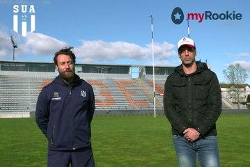 Interview croisée My Rookie et Agen Rugby