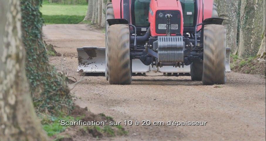 Limitation de la formation des trous sur les chemins communaux