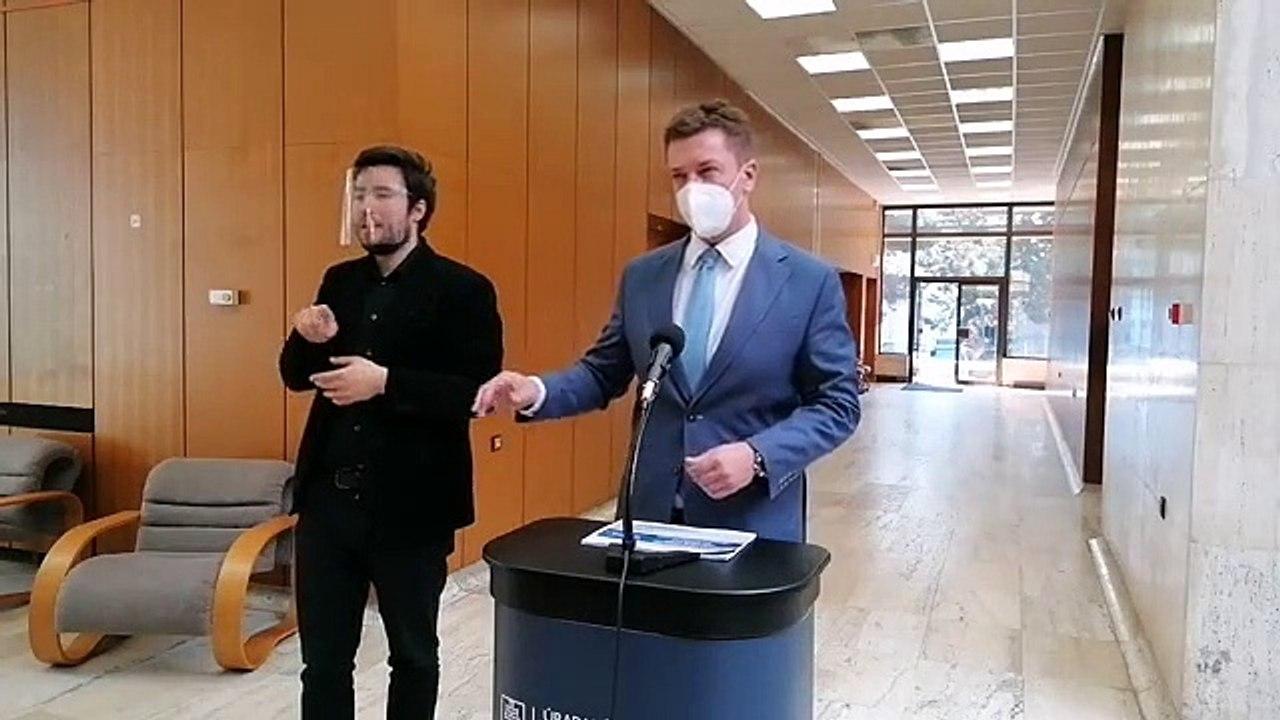ZÁZNAM: Brífing ministra doprava A. Doležala
