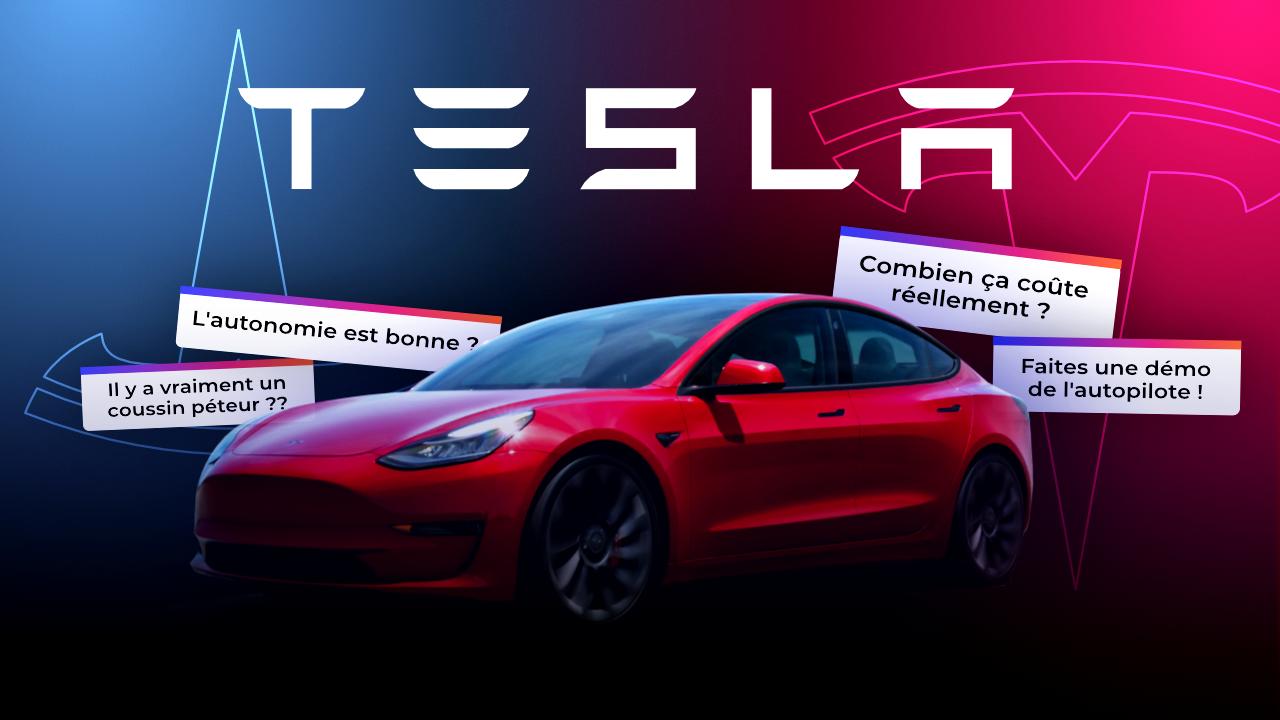 On a ESSAYÉ la nouvelle TESLA Model 3 Performance !
