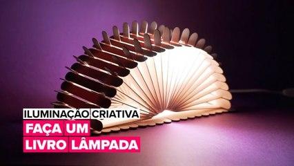 Iluminação Criativa: O livro Lâmpada