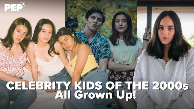 Celebrity kids of the 2000s all grown up!   PEP Specials