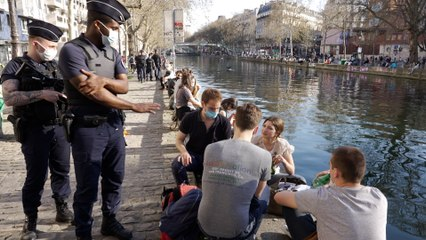 «135 euros, ça fait cher pour une bière» : sur les bords du canal Saint-Martin, la police dresse des contraventions