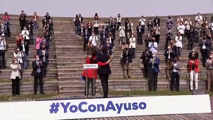 La confrontación política marca la precampaña electoral en Madrid