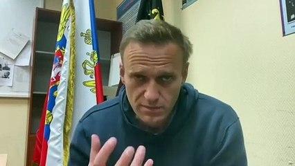 Navalni, en huelga de hambre hasta que reciba atención médica