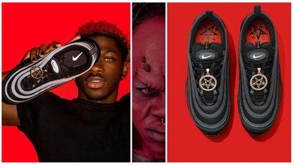 इंसानी खून से बने 'शैतानी जूते' ने मचाया बवाल',  Nike ने किया केस, कीमत होश उड़ा देगी!
