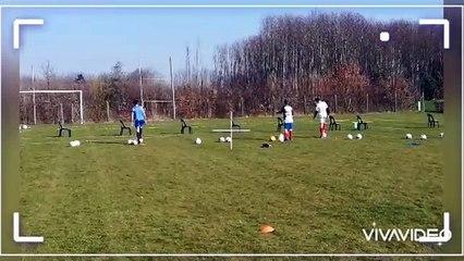 De nouvelles pratiques aux entrainements U15 (course d'orientation, biathlon, tir de précision, foot-golf, foot-pétanque, etc...)