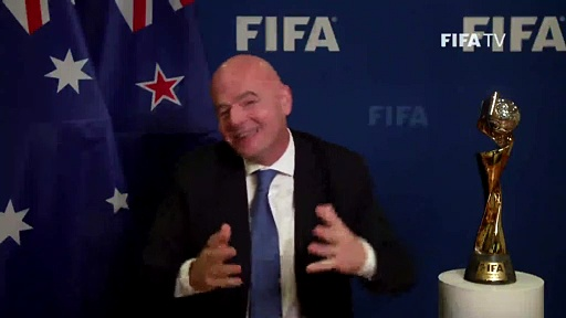 Auckland to host 2023 FIFA Women's World Cup opener, final in Sydney