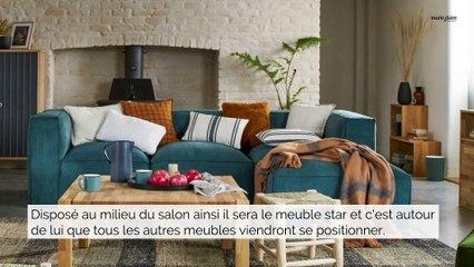 7 manières de positionner son canapé dans un salon