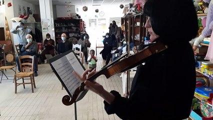 L'orchestre national Avignon Provence joue au Secours Populaire