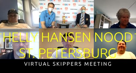 Helly Hansen NOOD St. Petersburg Virtual Skippers Meeting