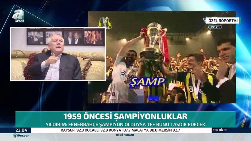 """Aziz Yıldırım: """"Ben Fenerbahçeli değilim, ben Fenerbahçe'nin kendisiyim''"""