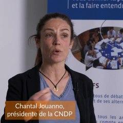 L'avis de Chantal Jouanno, Présidente de la CNDP sur le débat NEO