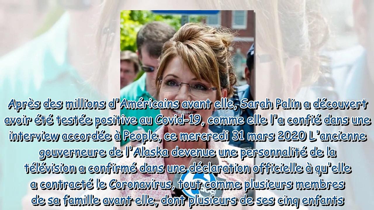 """Sarah Palin positive au Covid-19 – elle évoque ses symptômes """"bizarres"""""""