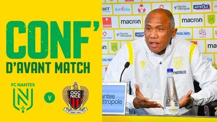 Antoine Kombouaré avant FC Nantes - OGC Nice