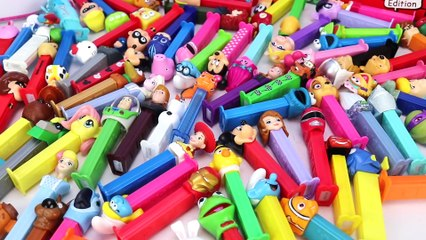 100+ PEZ Candy Collection feat. Trolls, Frozen 2, Paw Patrol & More!